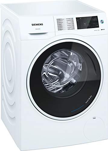 Siemens WD14U540 iQ500 Waschtrockner / 9,00 kg / 6,00 kg / A / 198 kWh / 1.400 U/min / autoDry / aquaStop / Outdoor-Trockenprogramm