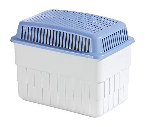 WENKO Feuchtigkeitskiller mit 1 kg Granulatblock, Raumentfeuchter, fasst bis zu 1,4 l Feuchtigkeit, laborgeprüft, nachfüllbar, reduziert Schimmel & Gerüche,...