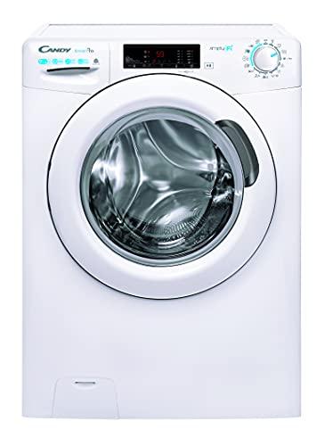 Candy Smart Pro CSOW 4965TE/1-S Waschtrockner/Waschen 9 kg/Trocknen 6 kg/Smarte Bedienung mit Wi-Fi + Bluetooth/Easy Iron - Dampffunktion/Mix Power System