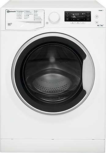 Bauknecht WATK Pure 96L4 DE N Waschtrockner / 9/6kg Waschen/Trocknen/Flecken 40° / Dampf-Programm/ProSilent Motor/Wolle-Programm/Nachlegefunktion/Kurzprogramm...