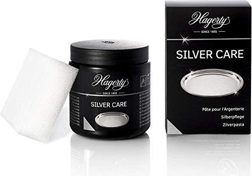 Hagerty Silver Care Silber Paste 185 g I Effiziente Polierpaste zur Reinigung & Pflege von Silber & versilbertem Metall I Silberputzmittel für angelaufene...