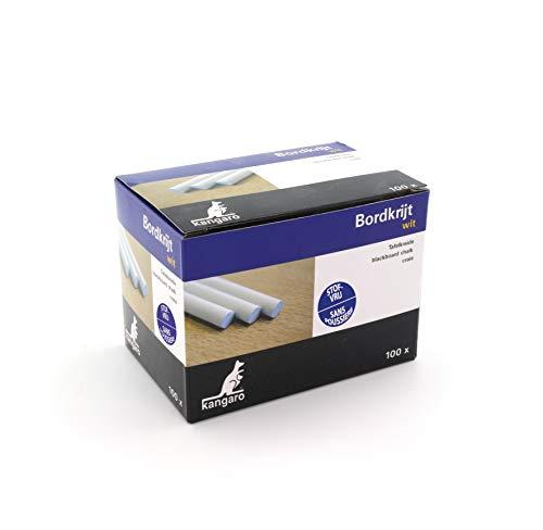 Tafelkreide Kangaro weiss Box 100St, Weiß, K-N100W, PT005