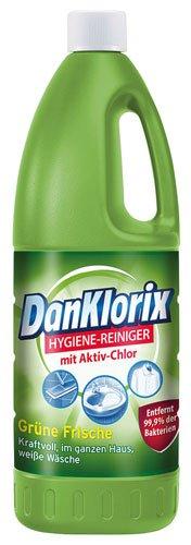 DanKlorix 8X Hygiene-Reiniger Grüne Frische - 1500ml