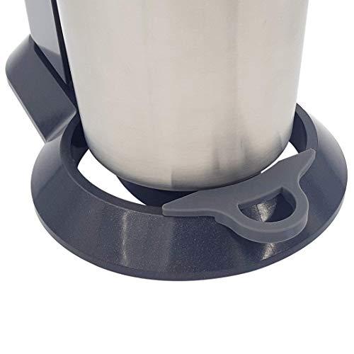 MaJoCompTec EASYHELP Clip kompatibel mit SodaStream Crystal 2.0   Wassersprudler Tropfschutz Zubehör   reduziert Verschmutzung durch tropfendes Wasser   Soda...