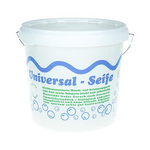 Aufstieg Qualität Universalseife 5 Liter Eimer Pastös | Neutralseife | Universalreiniger für Haushalt und mehr | Hochkonzentrierte Wasch- und Reinigungspaste...