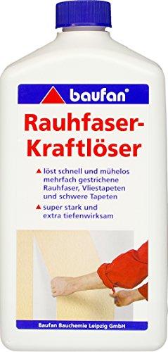 Baufan Rauhfaser Kraftlöser, für alle Arten von Tapeten, 1 l