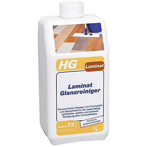 HG Laminat Glanzreiniger 1L – Ein Frisch Duftender Laminat Glanz - Für alle Arten von Laminatböden