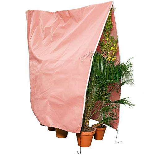 GardenGloss® Premium Pflanzenschutz Winter [Verschiedene Größen] – Hochwertiger Winterschutz für Kübelpflanzen – Frostschutz Pflanzen Winter –...