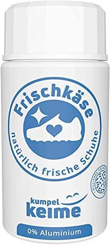 Frischkäse - das mikrobiologische Schuhpuder - Schuhdeo gegen Fußgeruch - Besser als ein Spray | Frische für Arbeitsschuhe, Sicherheitsschuhe, Sportschuhe &...