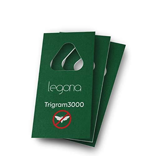 Legona® - Schlupfwespen gegen Lebensmittelmotten/Biologische & Nachhaltige Bekämpfung von Motten in Lebensmitteln / 3X Trigram-Karte à 3...