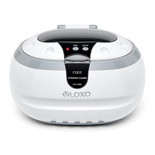 Ultraschallreinigungsgerät Ultraschallreiniger Ultraschallgerät 600ml - VLOXO für Brille Uhren Schmuck Ohrringe Ringe Halsketten Rasierer Zahnprothesen...
