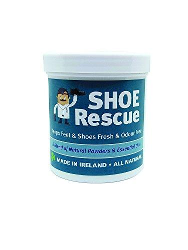 Fuß-und Schuhpuder 100g - Fußgeruch-Entferner und Eliminator - Entwickelt von einem registrierten Fußpfleger Shoe Rescue ist ein völlig natürliches Mittel,...