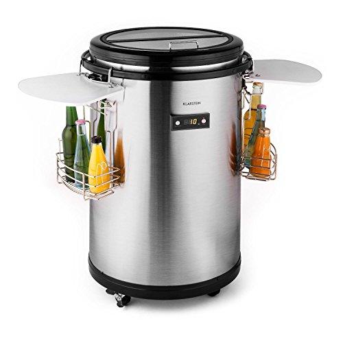 Klarstein • Mr. Barbot • Minibar • Mini-Kühlschrank • Getränkekühlschrank • Getränkefass • A+ • 50 L • Durchmesser: ca. 50,8cm • ca. 24kg...