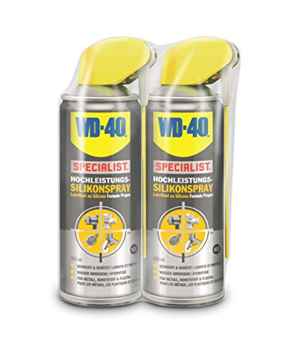 WD-40 Specialist Silikonspray Smart Straw (2x 400ml)
