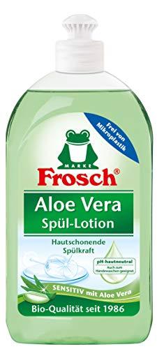 Frosch Aloe Vera Spül-Lotion, sensitives Handgeschirrspülmittel, sehr gute Hautverträglichkeit, 1er Pack (1 x 500 ml)
