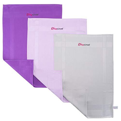 mysimaa® Dezent Putztücher Premium Profi Microfaser Allzweck-Reinigungstücher ohne Putzmittel für Streifenfreien Glanz im Haushalt, Auto, Büro sowie für...