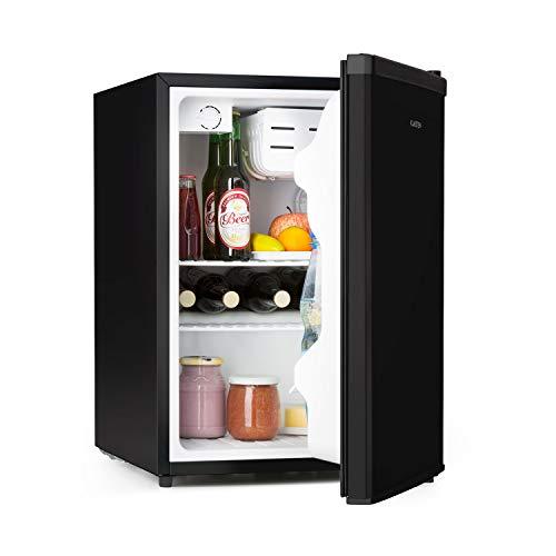 Klarstein Cool Kid Kühlschrank, Mini-Kühlschrank im CompactCooling Design, Fassungsvermögen: 66 Liter, 2 Ebenen, Kältefach: 4 Liter, Flaschenfach bis 2...