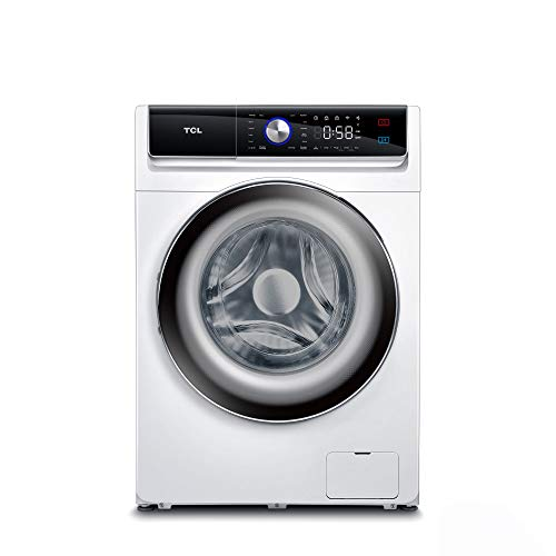 TCL - FP0914WD0DE - Frontlader-Waschmaschine (9 kg) - 1400 U/min - Energieklasse D - BLDC-Inverter-Motor - Touchscreen-Bedienungsanzeige