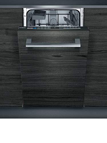 Siemens SR61IX05KE iQ100 Vollintegrierter Geschirrspüler/F / 78 kWh / 9 MGD/Smart Home kompatibel via Home Connect/varioSpeed/infoLight Betriebsanzeige