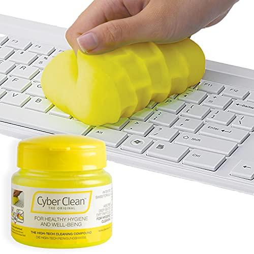 CYBER CLEAN The Original Reinigungsmasse 145g - Reinigungsgel, Tastaturreiniger, wiederverwendbare Reinigungsknete für Haushalt, Elektronik und Auto,...