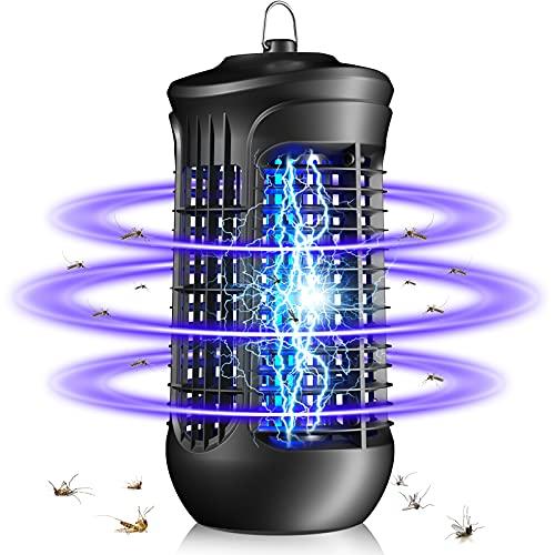 QUARED Elektrischer Insektenvernichter, UV-Licht Fliegenfalle Mückenlampe gegen Mücken, Fliegen, Motten, Ungiftigen Chemikalien für Innen Schlafzimmer,...