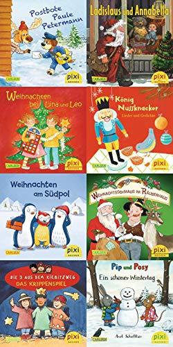 Pixi-Weihnachts-8er-Set 34: ABC, Pixi lief im Schnee (8x1 Exemplar) (34)