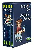Die drei ??? Kids: 4 Bände im Schuber (SOS über den Wolken, Spuk in Rocky Beach, Die Gruselfalle, Mission Goldhund)
