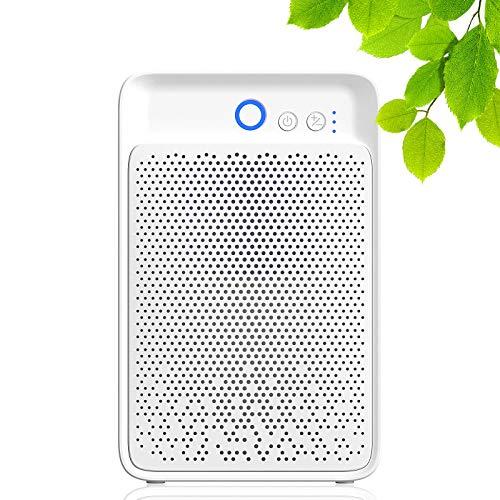 Luftentfeuchter,1000 ml energiesparender/elektrischer Luftentfeuchter mit automatischer Abschaltung und LED-Anzeige, geräuscharmer Luftentfeuchter für Küche,...