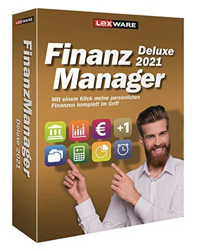 Lexware FinanzManager Deluxe 2021|Minibox|Einfache Buchhaltungs-Software für private Finanzen und Wertpapier-Handel