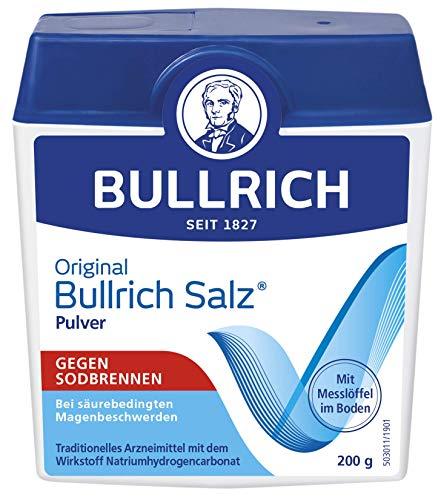 Bullrich Salz Pulver | schnelle Hilfe bei Sodbrennen und säurebedingten Magenbeschwerden, 200 g