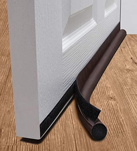deeToolMan Zugluftstopper 91,4 cm: einseitig Tür Isolator Selbstklebende Klettverschluss/Dichtung passt zu Unterseite der Tür/Unter Tür Draft Blocker/Tür...