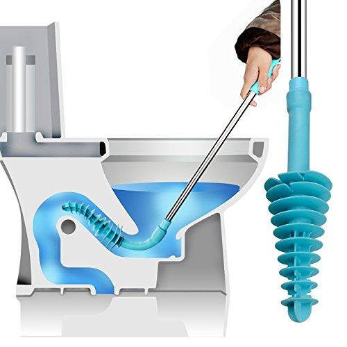 THEE Toilette Pömpel WC Pümpel Reinigungsbürste Rohrreiniger Abflussreiniger WC Plunger