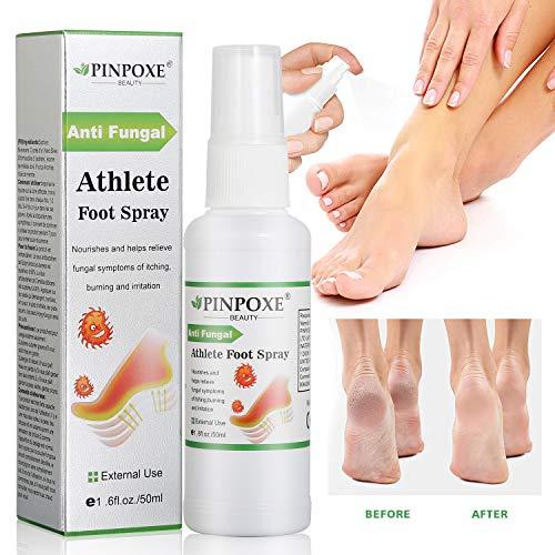 Fußpilz Spray, Fußspray, Athlete Foot Spray, Die effizient Juckreiz und Entzündungen an den Füßen steuern, kuriert und verhindert Pilzinfektionen, Bei...
