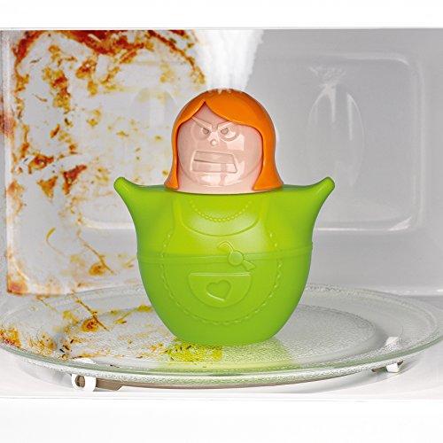 CLEANmaxx Mikrowellenreiniger Saubere Susi 03660, Genialer Küchenhelfer