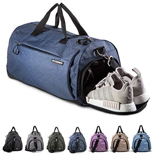Fitgriff® Sporttasche Reisetasche mit Schuhfach & Nassfach - Männer & Frauen Fitnesstasche - Tasche für Sport, Fitness, Gym - Travel Bag & Duffel Bag 58cm x...