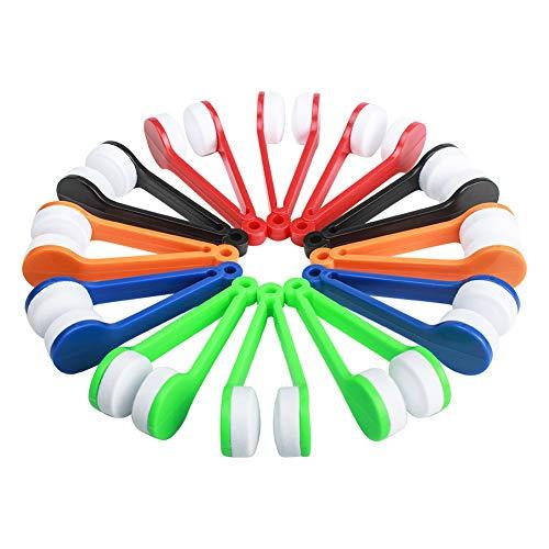 Ciaoed Sonnenbrille Bürste Brille von Mikrofaser Brille Reinigung Werkzeug 12 Stück