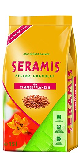 Seramis Ton-Granulat als Pflanzenerden-Ersatz für Topfpflanzen, Grün-, Blühpflanzen und Kräuter, Pflanz-Granulat, 15 Liter, 730048