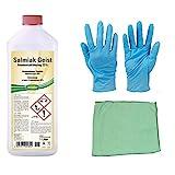 25% Salmiakgeist zum Entfetten, Reinigen und Anlaugen inkl. Microfasertuch zum Auftragen von E-Com24 (1 Liter)