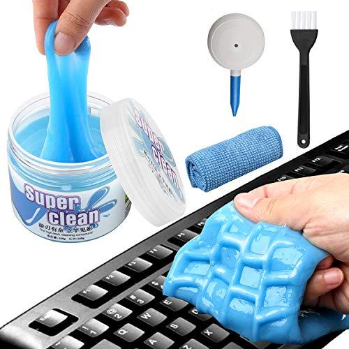 Tastatur Reiniger,FUNVCE Universal Tastatur Reinigungsgel Super Clean Gel Tastatur Reinigung Staubreiniger für Laptop PC Tastaturen, Auto...