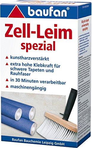Baufan Zell Leim Spezial, für schwere und Rauhfasertapeten, 200 g