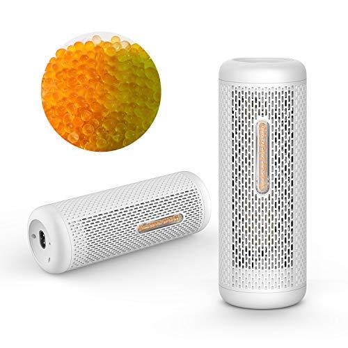 Deerma recycelbar Luftentfeuchter,mini raumentfeuchter gegen Feuchtigkeit mit 350g Granulat, 360° Entfeuchtung für Schrank, Bücherregal, Schlafzimmer,...