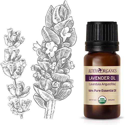 Alteya Bio Lavendelöl (Echter Lavendel) 10ml – 100% USDA Organic-zertifiziert Rein Natürlich Ätherisches Lavendelöl, Direktverkauf vom Lavendelanbauer und...