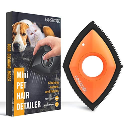 Fansrock Tierhaarentferner für Hundehaare und Katzenhaare, Hundehaarentferner, Katzenhaarentferner für zu Hause und Auto, Sofa, Bett und Teppich zu entfernen,...