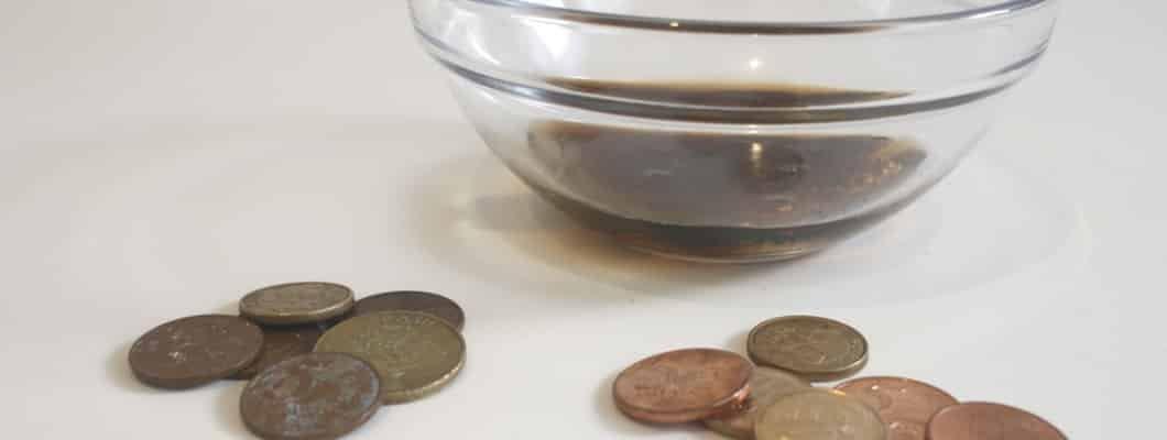 Anwendungen für Cola im Haushalt: Münzen polieren