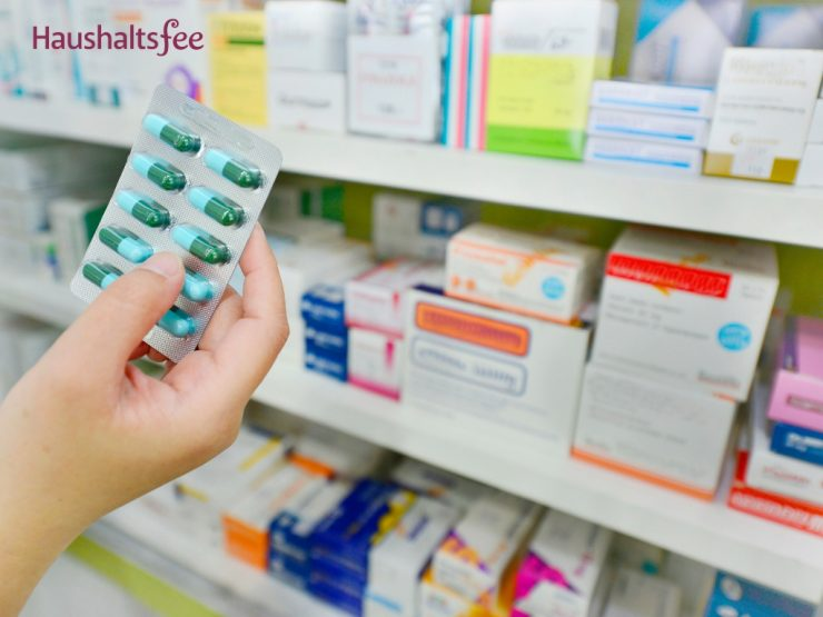 Blister mit Tabletten