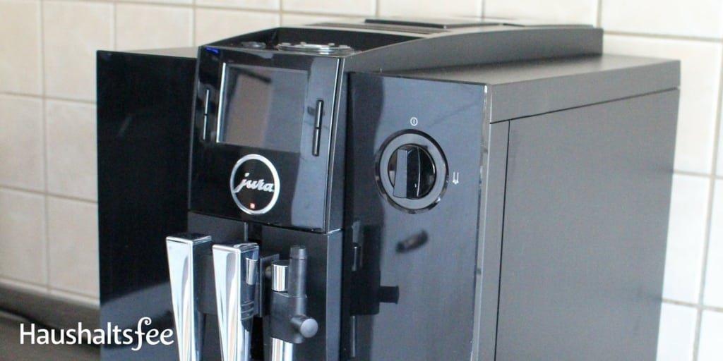 Frisch geputzter Kaffeevollautomat