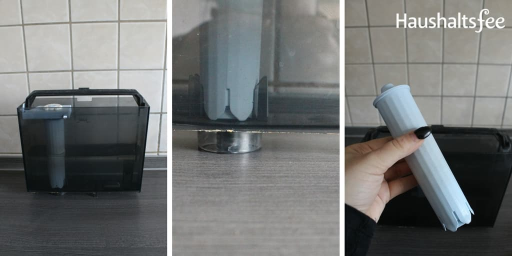 Wassertank des Jura Kaffeevollautomat reinigen
