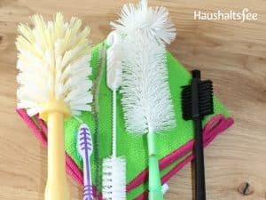 diverse Reinigerbürsten