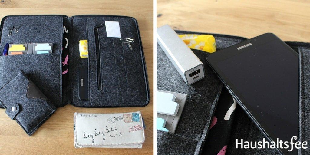 Handtasche organisieren von Geldbeutel bis Handy