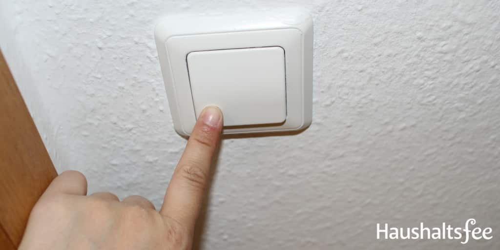 Sauberkeit im Haushalt: Lichtschalter